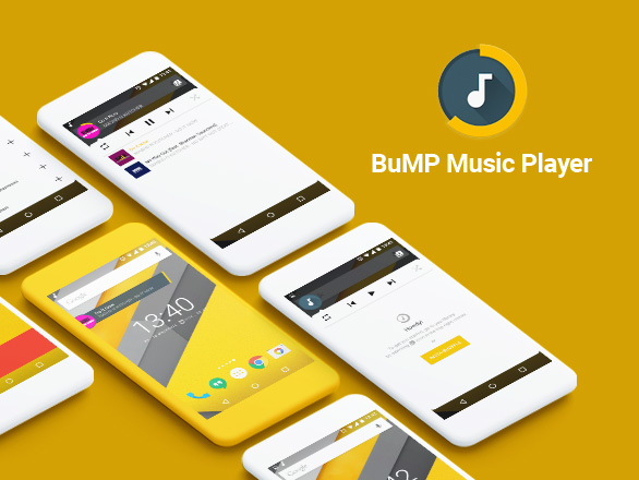 Bubble Music Player